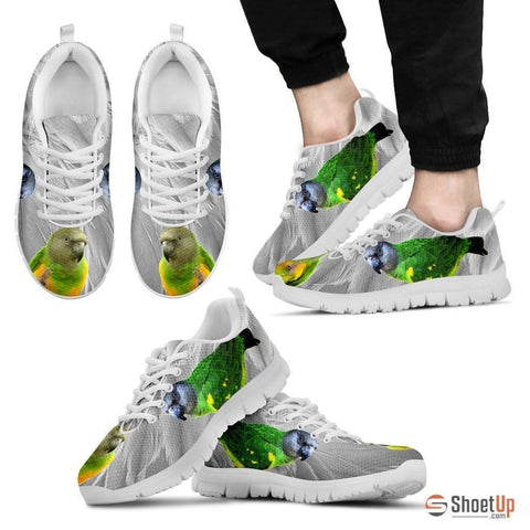 Senegal Parrot Running Shoes For Men-Free Shipping Limited Edition