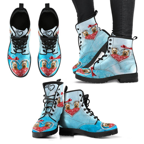 Valentine's Day Special-Cairn Terrier Print Boots For Women-Free Shipping