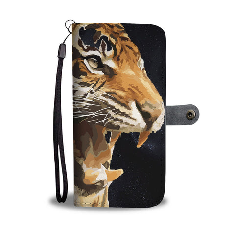 Amazing Tiger Art Print Wallet Case-Free Shipping