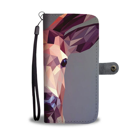 Deer Vector Art Print Wallet Case-Free Shipping