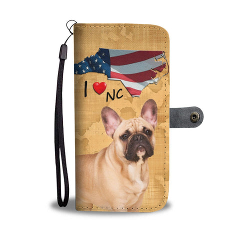 French Bulldog Print Wallet Case-Free Shipping-NC State