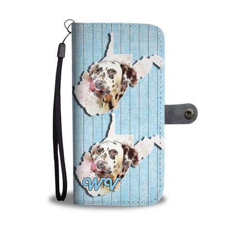 Dalmatian Dog Art Print Wallet Case-Free Shipping-WV State