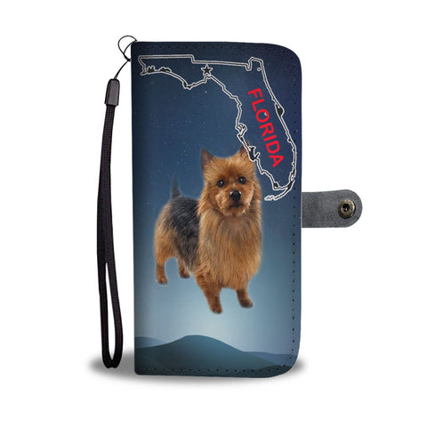 Amazing Australian Terrier Print Wallet Case-Free Shipping-FL State