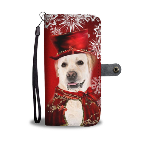 Labrador Retriever Christmas Print Wallet Case-Free Shipping