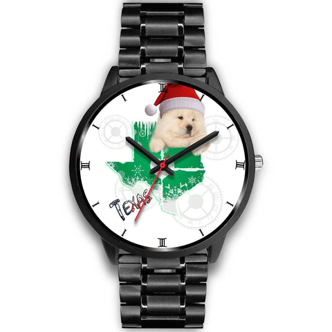 Chow Chow Dog Texas Christmas Special Wrist Watch-Free Shipping