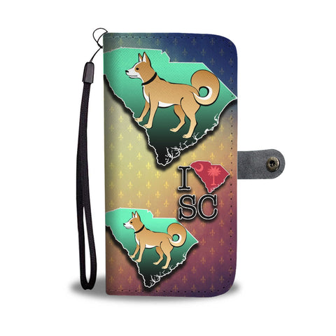 Shiba Inu Dog Art Print Wallet Case-Free Shipping-SC State