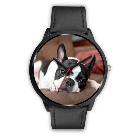 Boston Terrier Unisex Wrist Watch-Free Shipping