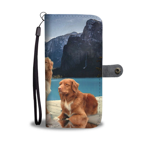 Nova Scotia Duck Tolling Retriever Wallet Case- Free Shipping