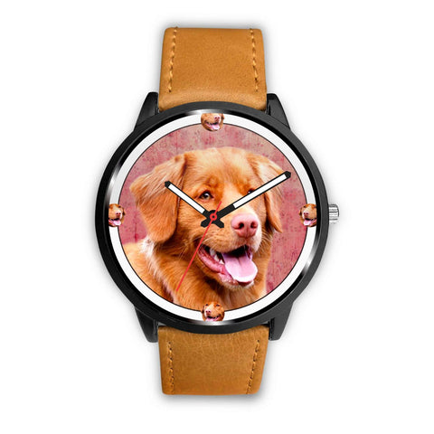 Lovely Nova Scotia Duck Tolling Retriever Dog Print Wrist watch - Free Shipping