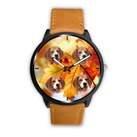 Lovely Beagle Dog Print Wrist Watch- Free Shipping