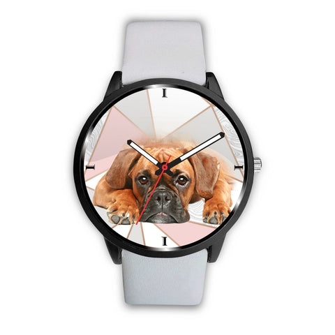 Lovely Boxer Dog Print Wrist Watch- Free Shipping
