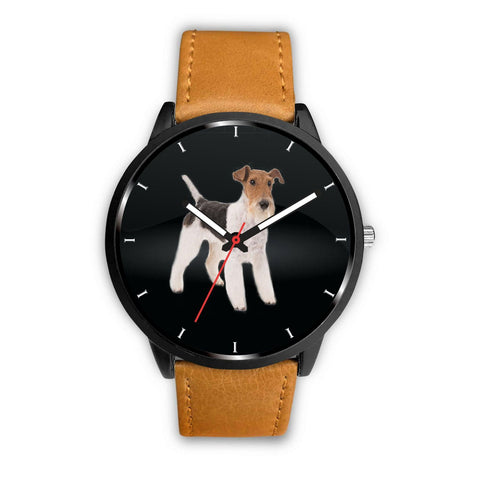 Wire Fox Terrier Print Wrist Watch-Free Shipping