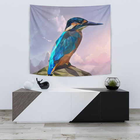 HummingBird Vector Art Print Tapestry-Free Shipping