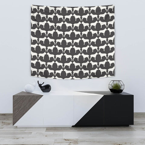 Amazing Cane Corso Dog Pattern Print Tapestry-Free Shipping