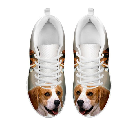 Beagle Dog 3D Print Running Shoes For Women- Free Shipping- For 24 Hours Only