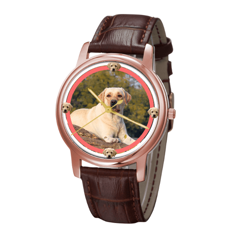 Labrador Retriever Unisex Fashion Wrist Watch- Free Shipping
