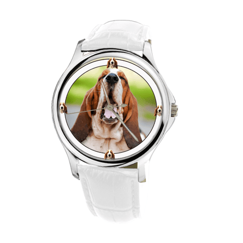 Amazing Basset Hound Fashion Women's Wrist Watch - Free Shipping
