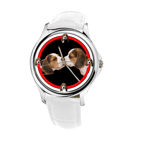 Double Beagle Women Wrist Watch- Free Shipping