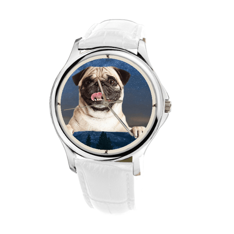 Pug Wrist Watch For Women - Free Shipping