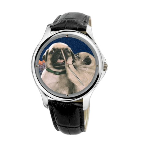 Pug Unisex Fashion Wrist Watch - Free Shipping