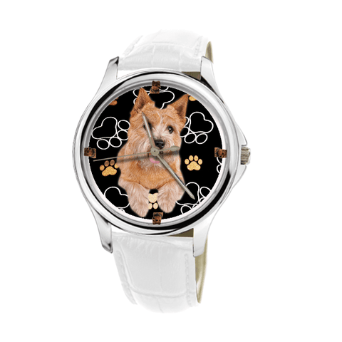 Norwich Terrier Waterproof Unisex Wrist Watch - Free Shipping