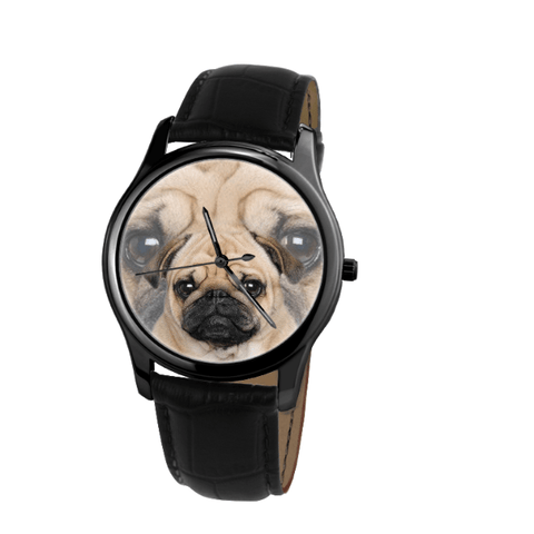 Pug Unisex Wrist Watch - Free Shipping