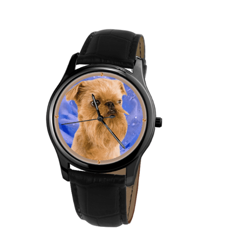 Brussels Griffon Unisex Wrist Watch - Free Shipping
