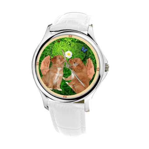Nova Scotia Duck Tolling Retriever Women Wrist Watch-Free Shipping