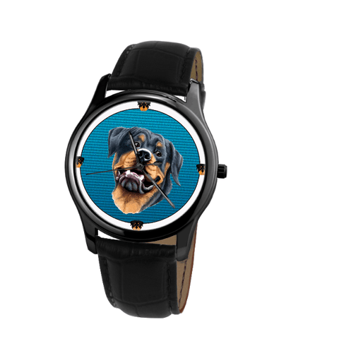 Rottweiler Fashion Unisex Wrist Watch - Free Shipping