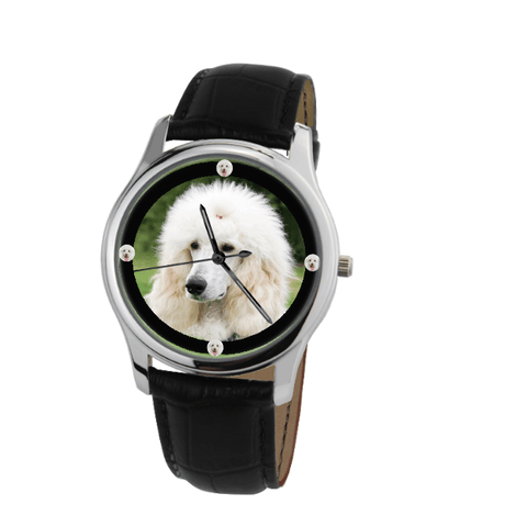 Poodle Unisex Wrist Watch- Free Shipping