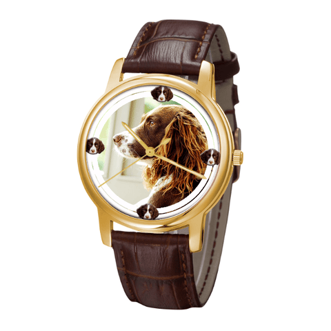 English Springer Spaniel Fashion Wrist Watch- Free Shipping