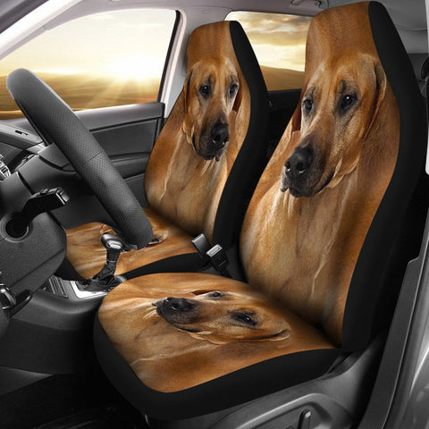 Rhodesian Ridgeback Dog Print Car Seat Covers-Free Shipping