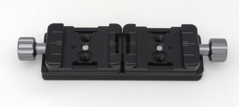 Adapter - Compact Dual Lens Ring Mount Stereo Bracket - 3D Stereo Rig (F8340)