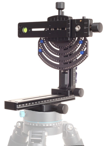 High Resolution Photography Panoramic Tripod Head - M2 Giga No Rotator (F9005)