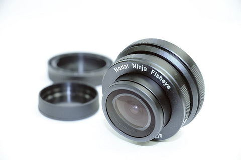 Lens - Nodal Ninja 7.3mm F4 Fisheye Micro Four Thirds Mount
