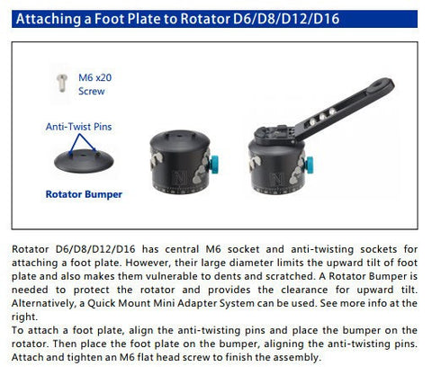 Rotator Accessory - Advanced Rotator Bumper (F1170)