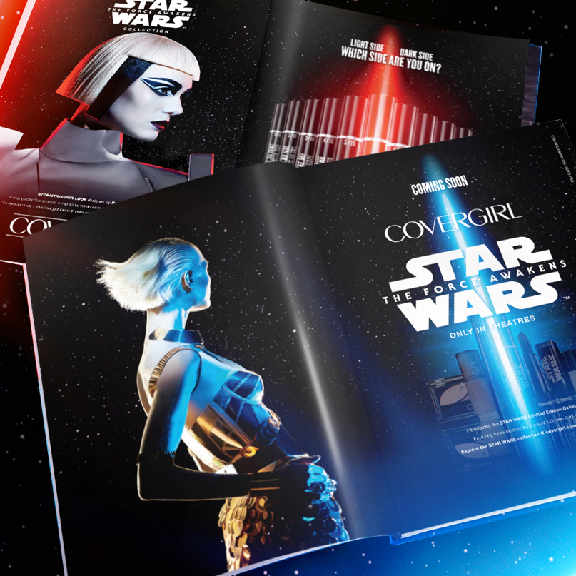 Covergirl's Star Wars Makeup Line a Major Hit