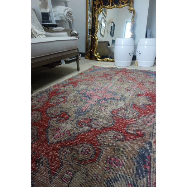 Vintage Turkish Rug - Boho II