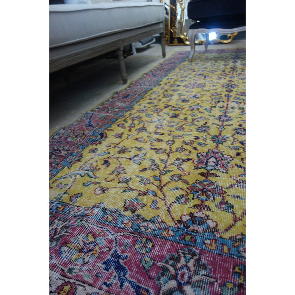 Vintage Turkish Rug - Provencal
