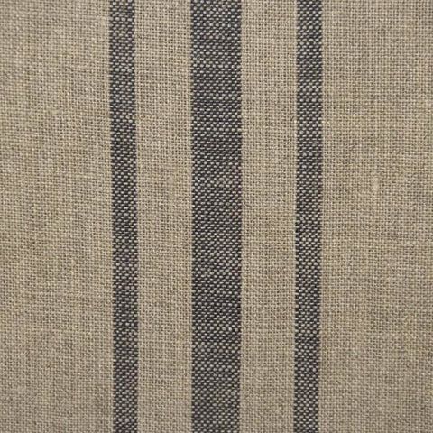 Furniture - Le Fermier Armchair, English Khaki Blue Stripe