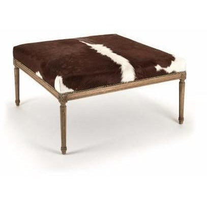Furniture - Louis Cowhide Ottoman