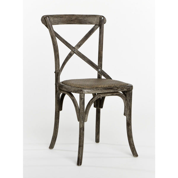 Furniture - Parisienne Cafe Chair, Limed Charcoal Oak