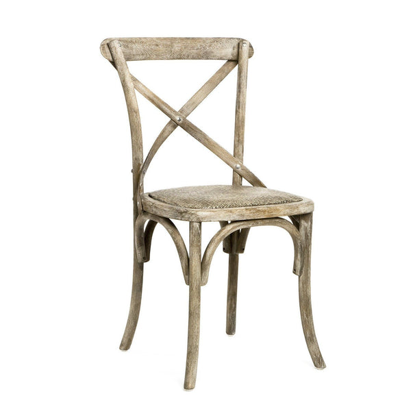 Furniture - Parisienne Cafe Chair, Limed Grey Oak