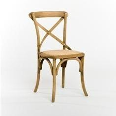Furniture - Parisienne Cafe Chair, Natural Oak