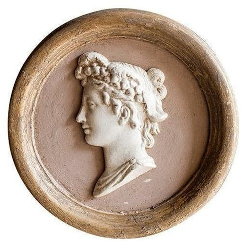 Objects & Accessories - Bas-Relief Cameos, Women In Profile
