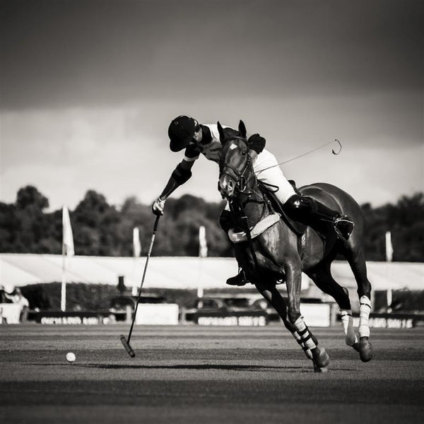 Objects & Accessories - Glass Art - Polo Player