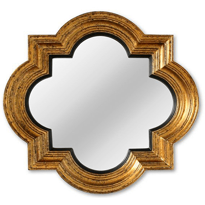 Objects & Accessories - Quatrefoil Mirror
