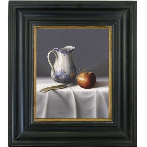 Objects & Accessories - Still Life Painting - Jug And Apple