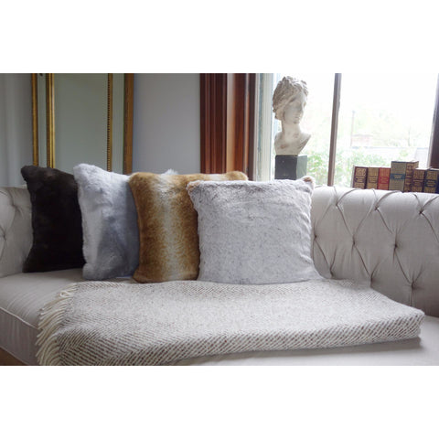 Soft Furnishings - Faux Fur Pillows