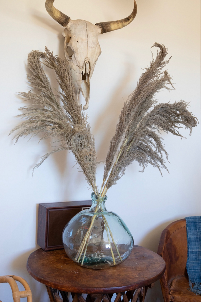 PAMPAS GRASS Type 2 (3 Stems)- Natural